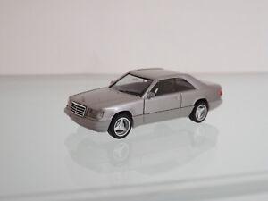 Herpa-038782-H0-1-87-Mercedes-Benz-E-320-Coupe-Plata-Metalizado