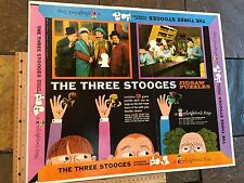 THREE STOOGES VINTAGE 1959 PUZZLE PRINTER'S PROOF COLORFORMS  SCARCE  CURLY