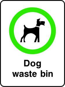 Dog-Waste-Bin-Sign-V6PLAY0027-VAT-Invoice-Supplied