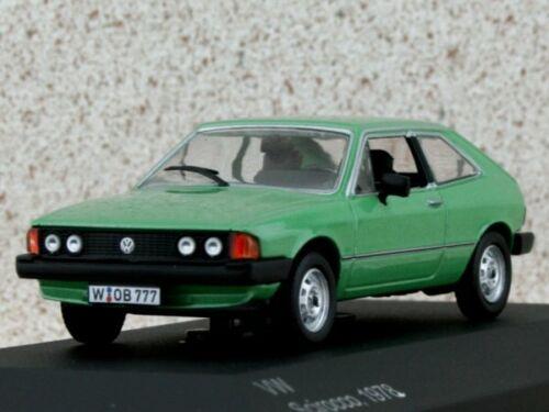 WhiteBox 1:43 1978 greenmetallic VW Volkswagen Scirocco