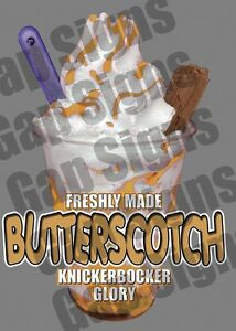 Ice Cream Van Autocollant Butter Scotch Kbg Flake-afficher Le Titre D'origine Vhgmybl7-07233613-395923416