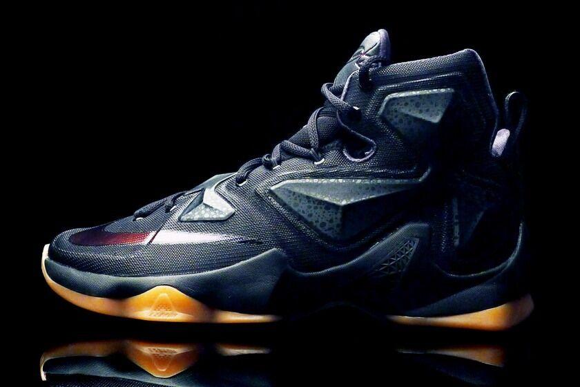 2018 Nike LeBron 13 XIII Black Lion Gum Size 11. 807219-001 Kyrie Finals MVP PE