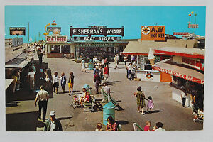 Details About Vintage Redondo Beach Pier Fisherman S Wharf