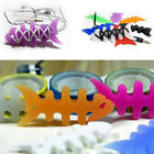 5pcs Fish Bone Silicone Earbud Earphone Cord Cables Wrap Winder Wire Holder Cool