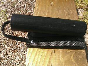 Pier fishing rod holder for larger rods for Pier fishing rod holder
