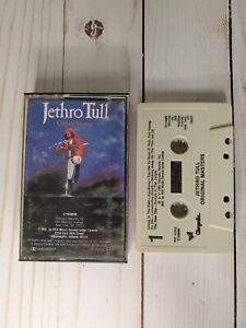 Jethro Tull: Original Masters Cassette 1985 Chrysalis Records w/J Card *Tested*
