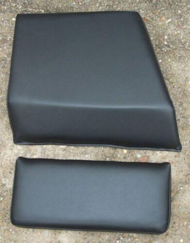 Traktor Sitzkissen schwarz Sitz Beifahrer ZT 300 303 Beifahrersitz Rückenlehne