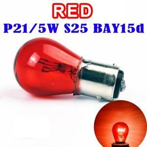 Bombillas-BAY15D-1157-P21-5W-Posicion-Freno-Cristal-Rojo-Pack-2-uds