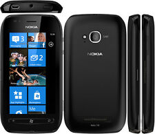 "Brand Nokia Lumia 710 - 8GB - Black (Unlocked) Windows Smartphone 3.7"" 5MP"