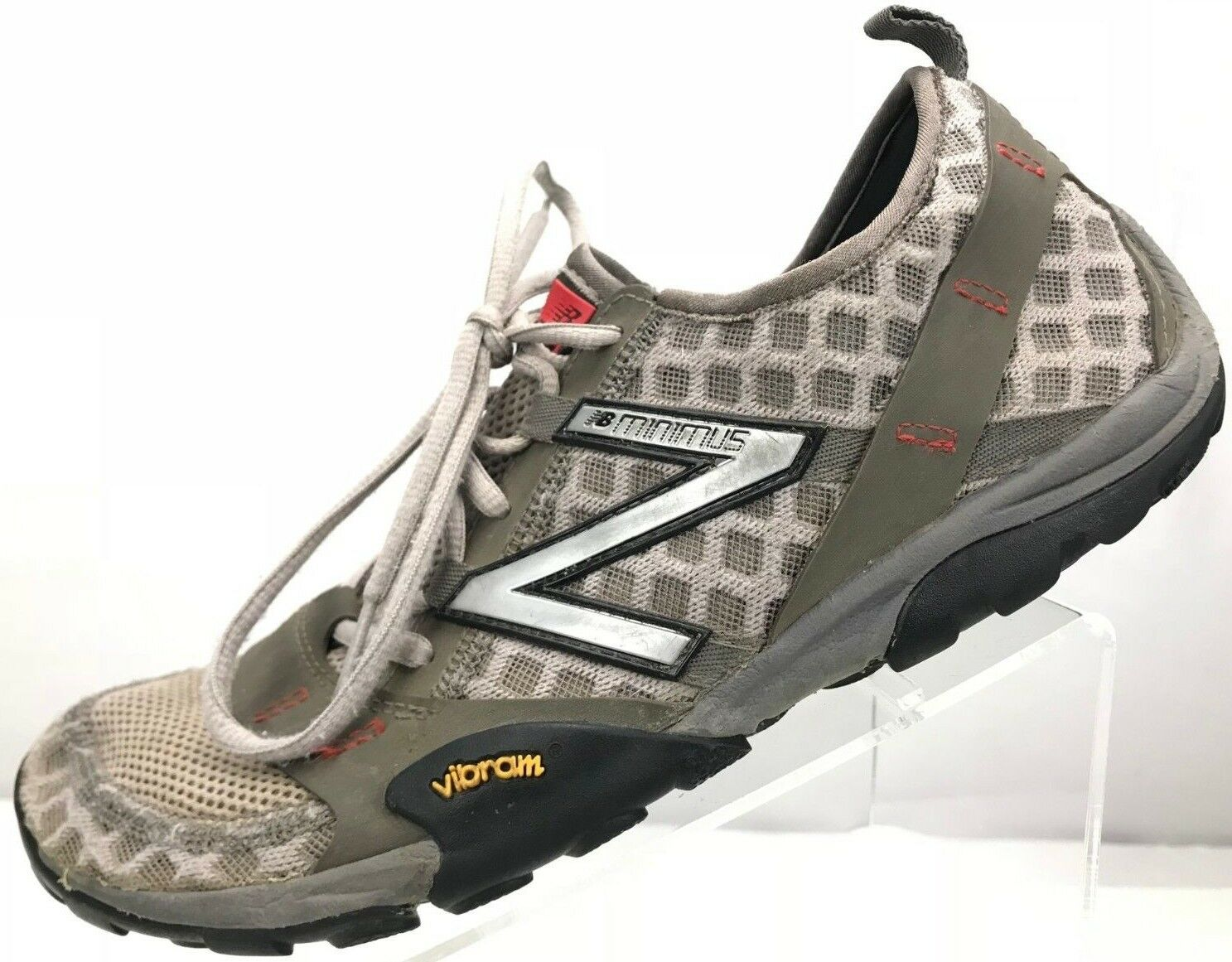 New Balance Minimus 10v3 Trail - Running Athletic Sneakers Women's 9.5 B Olive
