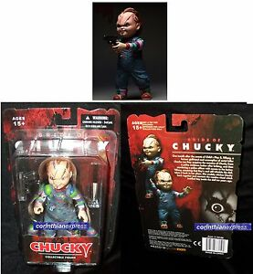 Childs Play Chucky 5 Inch Action Figure W Knife & Amp Gun