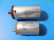 Ovenaire Sa2c 15 Amp Pmscr 12 Oven Electronic Crystals Lot Of 2