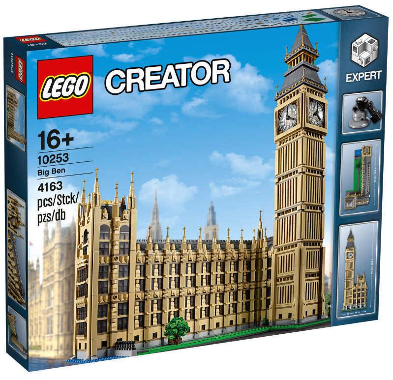 LEGO ® CREATOR EXPERT - - 10253-Big Ben NUOVO & OVP oltre 4.000 LEGO ® parti NUOVO