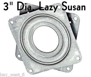 """LAZY SUSAN BEARINGS ~ 4"""" Diameter { Turntable} Lot of 1 to 5 ~ by PLD"""