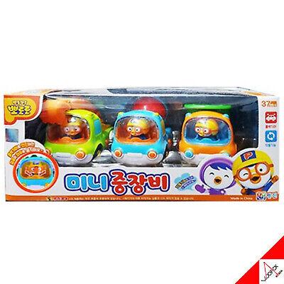 Pororo /& Friends Kid Car Set 6 un. //animación coreana Character toys
