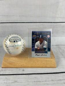 Reggie Jackson 2008 All Star Game Autographed MLB Baseball Steiner Sports COA
