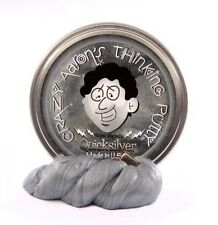 QUICKSILVER Magnetic Thinking PUTTY Super Strong MAGNET Fidget Desk Toy SILVER