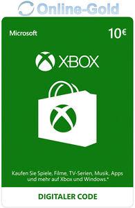 Xbox-Live-Card-10-euros-Microsoft-haberes-MS-Xbox-360-Xbox-One-Live-Card