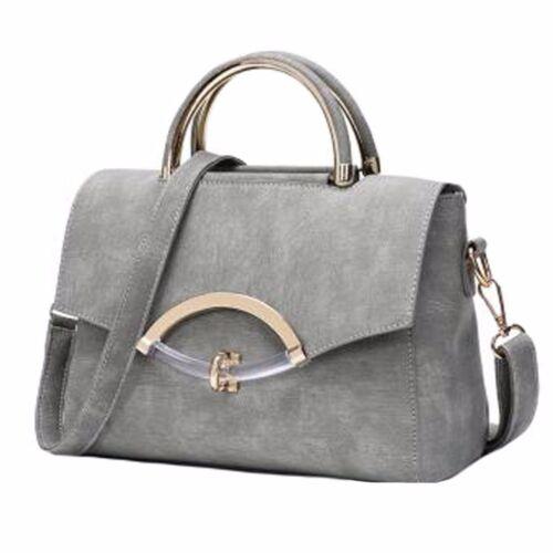 Blancho Pu Handtasche Schulter Umhngetasche Leder Grau Fashion Z6Iqr5xwZO
