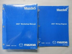 image is loading 2007-mazda-5-service-workshop-repair-manual-amp-
