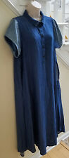 KEDEM SASSON Short Sleeve Long Dress Made in Israel One Size