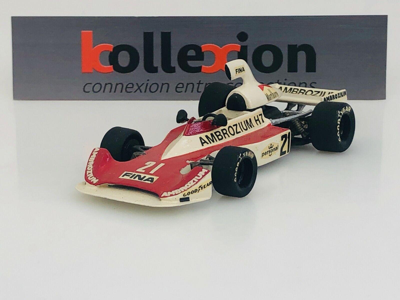 John D. Williams (johnday Williams) Williams) Williams) fw01 Ford '- 212megp F1 alemane 1975 J. Lafitte 1.43 88a