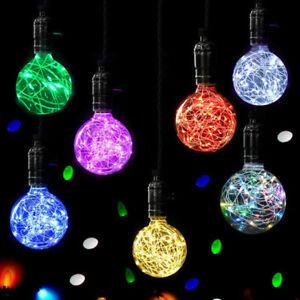 Luz-Led-De-Navidad-Fiesta-de-cadena-de-hadas-E27-estrellado-Lampara-Bombilla-De-Plastico-Decoracion