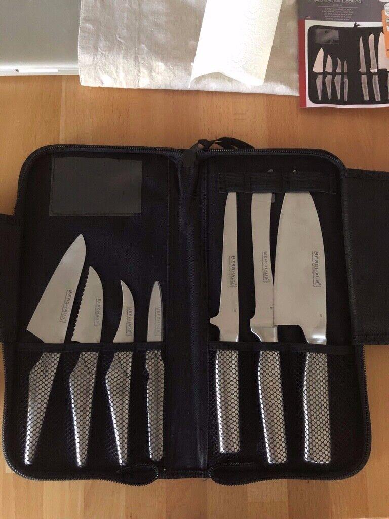 Berghaus 8- teiliges Messerset neu