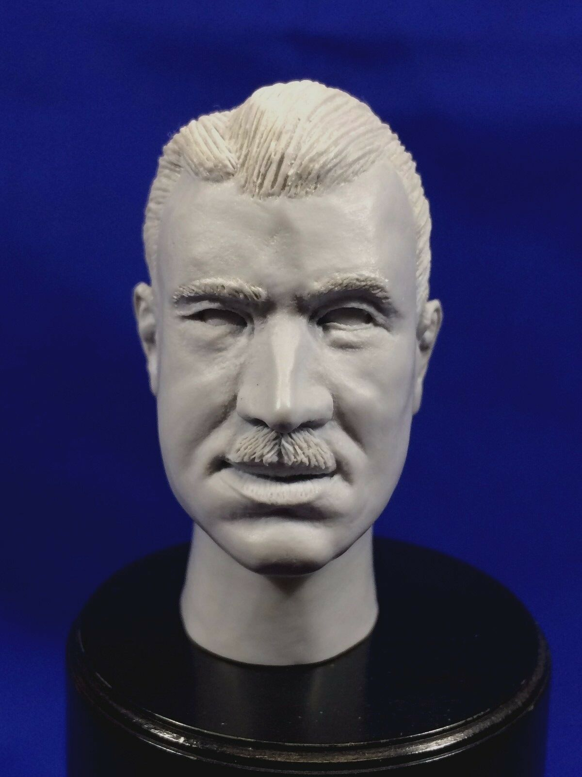 1 6  RESIN HEAD SCULPT     ADOLF GALLAND    WITH OFFICERS CAP   WWII FIGHTER PILOT e41c5c