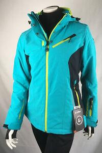 Details zu Damen Skijacke Killtec Erlya 8000mm türkis,blau,lime Gr. 38 46
