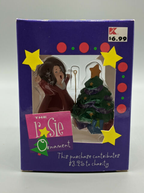 Vintage The Rosie O'Donnell Show Christmas Ornament 1998 ...