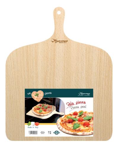 37x38 cm Pizza Maker Serving /& Cutting Big Pizza Peel Wood Paddle Board Tray