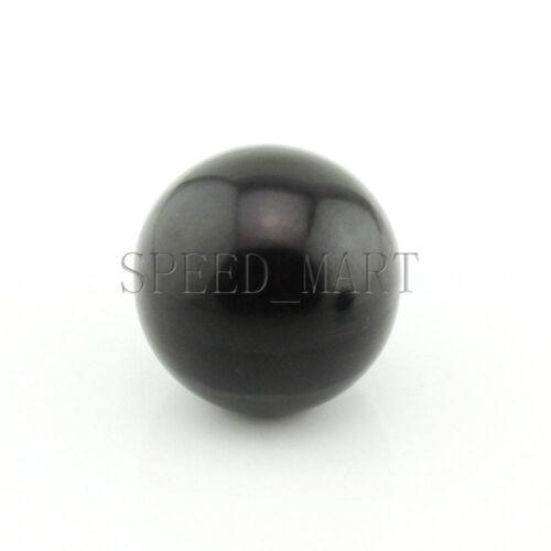 5pcs Black Plastic M8x40mm Thread Ball Type Shaped Head Clamping Nuts Knob