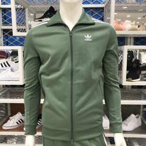 fondo O cualquiera Escritura  Adidas Men Beckenbauer Track TOP jacket mint DH5820 | eBay