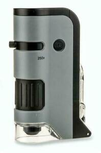 Carson MP-250 MicroFlip Taschenmikroskop Digitalmikroskop Microskope Lupe