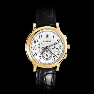 Watch-L-Leroy-Osmior-18K-Gold-Automatic-Guilloche-Chronograpf-Winner-of-GPHG