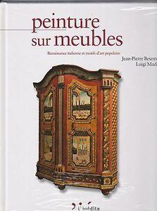 Peinture Sur Meubles Inspiration Renaissance Italienne Et Motifs D'art Populaire