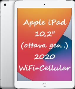 Apple-iPad-2020-32GB-Wi-Fi-CELLULAR-10-2-034-MYMJ2TY-A-NUOVO-ITALIA-Tablet-Silver