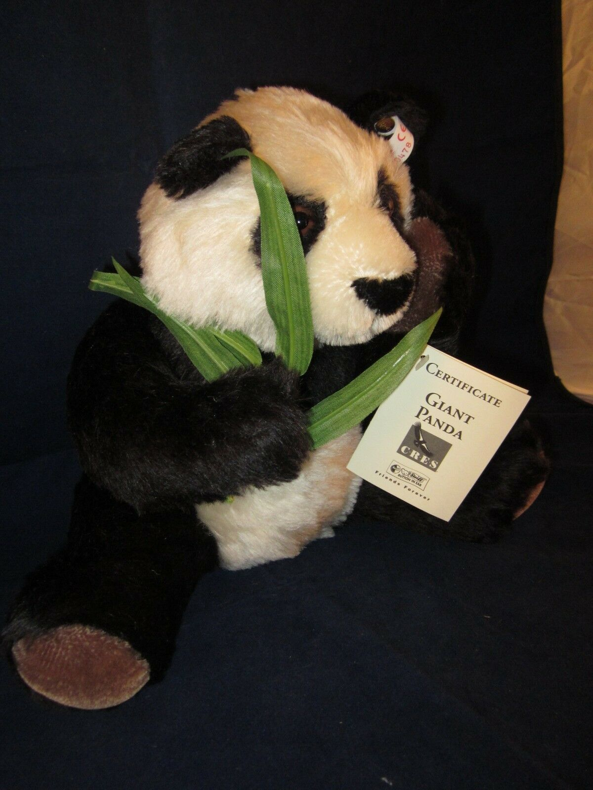 STEIFF Giant Pea orso  San Diego Zoo Limited Limited Limited Ed  nuovo with TAG 81a85d