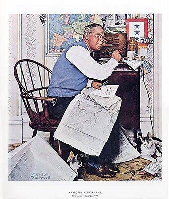 Norman Rockwell WWII WW2 Print HOMECOMING GI