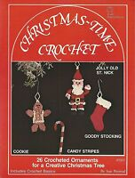Christmas-time Crochet Sue Penrod Ornaments 1979 Vintage Patterns