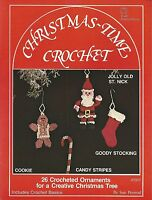 Christmas-time Crochet Sue Penrod Ornaments 1979 Vintage Patterns