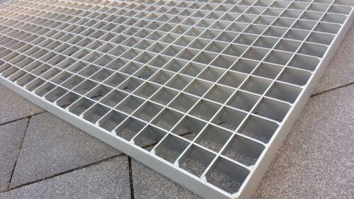 Gitterrost aus Edelstahl 1000x500 MW 30//30 Tragstab 30//2 mm