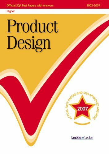 (Very Good)1843725649 Product Design Higher 2007/2008 SQA Past Papers,SQA,Paperb