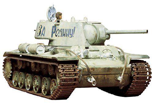 TAMIYA 1 35 Russian Heavy Tank KV-I Type C Model Kit NEW from Japan