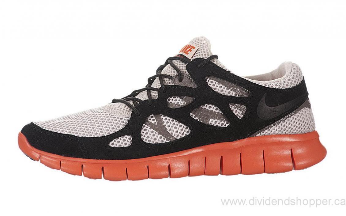 NIKE Free Run +2 EXT Neu Gr:42,5 Grau Presto Flyknit Trainer Sneaker 90 95 97