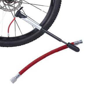 Bike Tyre Air Pump Inflator Replacement Extension Hose for Schrader Valve Fast