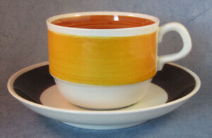 Rorstrand-Vintage-Focus-Coffee-Cup-amp-Saucer-Excellent-Condition