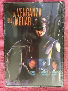 La-Vendetta-Del-Jaguar-DVD-Nuovo-Maxwell-Caulfield-New-Sigillata-Spagnolo-Libro