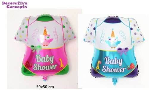 2x Baby Shower New Baby Girl Baby Boy Balloon Dress Christeneing Foil Baloons